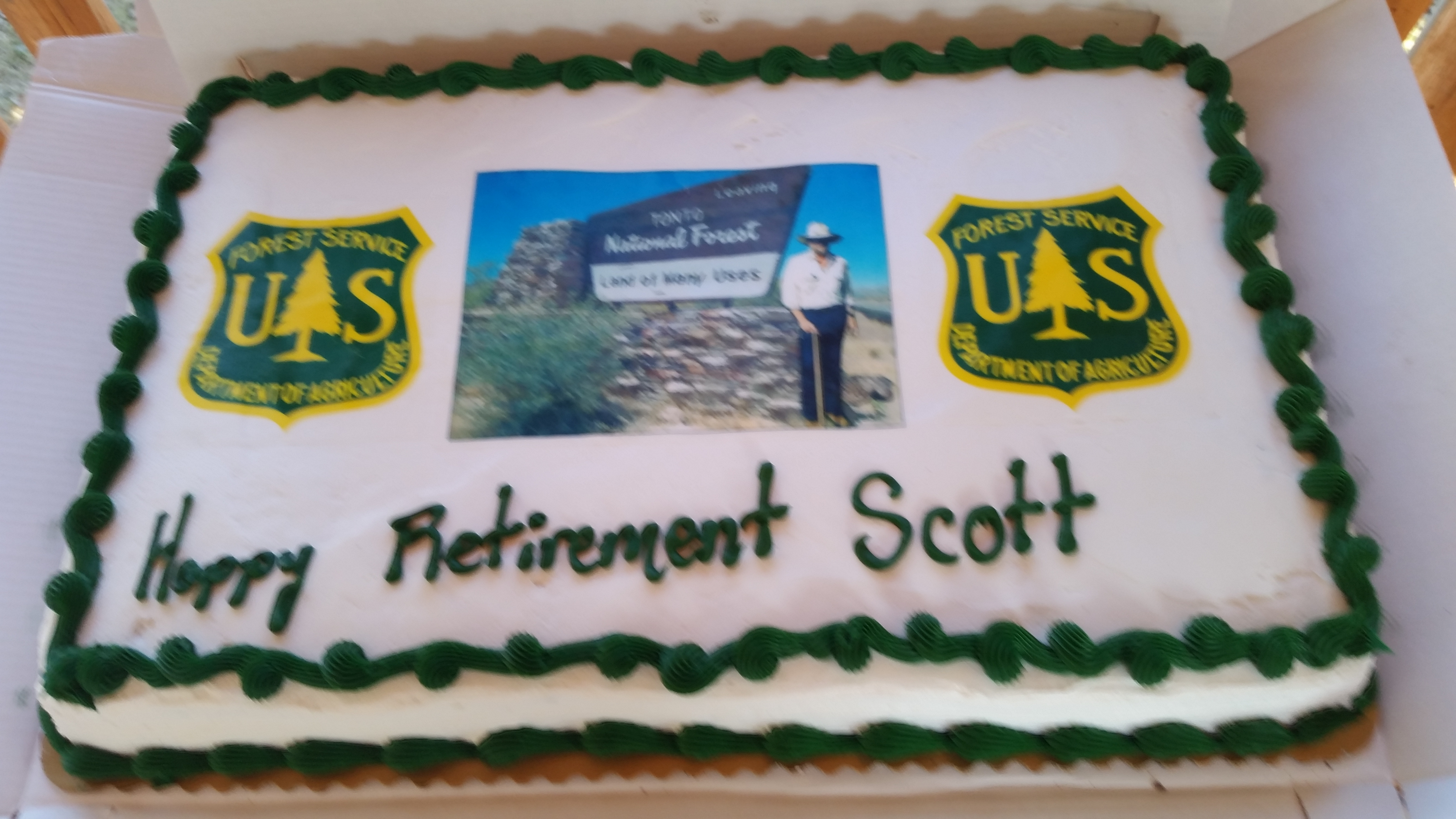 Scott Wood Retirement Party